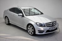 USED 2012 12 MERCEDES-BENZ C CLASS 1.8 C250 BLUEEFFICIENCY AMG SPORT 2d AUTO 202 BHP
