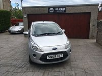 2009 FORD KA 1.2 STYLE 3d 69 BHP £SOLD