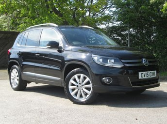 2015 VOLKSWAGEN TIGUAN 2.0 MATCH TDI BLUEMOTION TECHNOLOGY 4MOTION 5d 139 BHP £10250.00