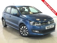 USED 2016 16 VOLKSWAGEN POLO 1.0 BLUEMOTION TSI 5d 93 BHP 1 OWNER | DAB | ALLOYS |