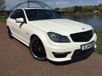 2014 MERCEDES-BENZ C CLASS 6.2 C63 AMG 4d AUTO 457 BHP £25995.00