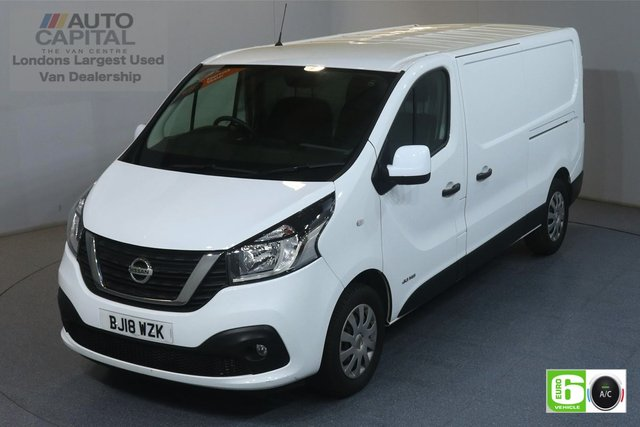 2018 18 NISSAN NV300 1.6 DCI ACENTA L2H1 SWB 144 BHP EURO 6 AIR CON MANUFACTURER WARRANTY UNTIL 30/03/2021