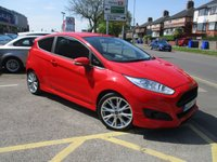 USED 2016 16 FORD FIESTA 1.0 ZETEC S 3d 124 BHP Lovely Condition & Large Specification