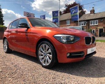 2013 BMW 1 SERIES 2.0 116D SPORT 5d 114 BHP £11695.00