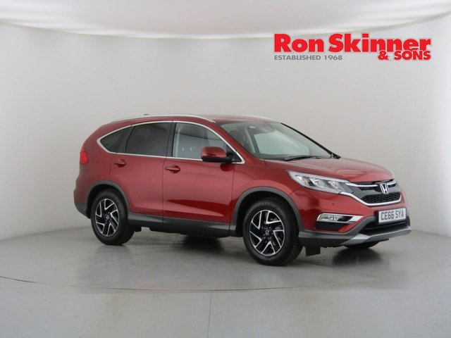 View our 2016 66 HONDA CR-V 1.6 I-DTEC SE PLUS NAVI 5d 118 BHP
