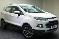 "USED 2015 65 FORD ECOSPORT 1.0 TITANIUM 5d 124 BHP 17""ALLOYS+CRUISE CONTROL+CLIMATE CONTROL+BLUETOOTH"