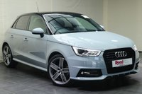 "USED 2017 67 AUDI A1 1.4 SPORTBACK TFSI BLACK EDITION NAV 5d 148 BHP 18""ALLOYS+PARKING SENSORS+NAV+CLIMATE CONTROL+PAN ROOF"