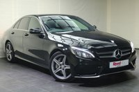 """USED 2015 15 MERCEDES-BENZ C CLASS 2.1 C300 H AMG LINE 4d AUTO 204 BHP 18""""ALLOYS+NAV+PARKING SENSORS+CRUISE CONTROL+CLIMATE CON+B/TOOTH"""
