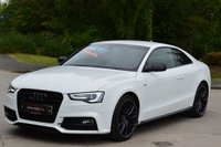 USED 2015 65 AUDI A5 2.0 TFSI QUATTRO BLACK EDITION PLUS 3d AUTO 227 BHP IMACULATE CONDITION. FINANCE AVAILABLE.