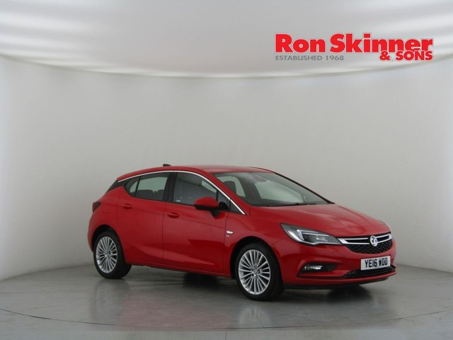View our 2016 16 VAUXHALL ASTRA 1.4 ELITE NAV 5d 148 BHP with front & rear parking sensors