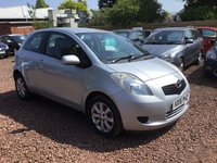 USED 2006 06 TOYOTA YARIS 1.0 T3 VVT-I 3d 69 BHP FULL SERVICE HISTORY! EXCEPTIONALLY LOW MILEAGE!
