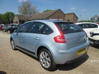 USED 2008 08 CITROEN C4 1.6 VTR PLUS HDI 5d 108 BHP CRUISE CONTROL & SPEED LIMITER
