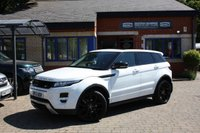 USED 2013 53 LAND ROVER RANGE ROVER EVOQUE 2.2 SD4 DYNAMIC LUX 5d 190 BHP Full service history! 2 tone red & black leather, Black alloys!