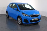 USED 2016 66 PEUGEOT 108 1.0 ACTIVE 3d 68 BHP 1 OWNER I FULL SERVICE HISTORY