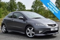 USED 2012 61 HONDA CIVIC 1.8 I-VTEC TYPE S GT 3d 138 BHP PANORAMIC ROOF! TYPE R LOOKS! SERVICE AND MOT ON ORDER!