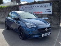 USED 2016 65 VAUXHALL CORSA 1.2 STING 3d 69 BHP FINANCE AVAILABLE+1 OWNER+SERVICE HISTORY+CRUISE CONTROL+LOW INSURANCE