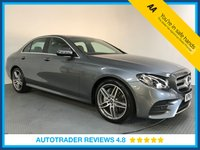 USED 2017 67 MERCEDES-BENZ E CLASS 2.0 E 220 D AMG LINE 4d AUTO 192 BHP FULL HISTORY - EURO 6 - SAT NAV - CAMERA - PARKING SENSORS - HALF LEATHER - AIR CON - BLUETOOTH
