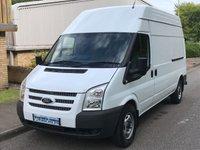 2013 FORD TRANSIT 2.2 FWD 350 LWB HIGH ROOF 100 BHP £5995.00