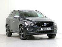 2016 VOLVO XC60 2.0 D4 R-DESIGN NAV 5d 188 BHP £17352.00