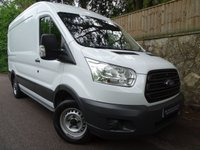 2015 FORD TRANSIT 2.2 290 SHR P/V 1d 99 BHP L2 H2 MEDIUM WHEEL BASE MEDIUM ROOF £11990.00