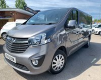 USED 2016 16 VAUXHALL VIVARO 1.6 2900 L2H1 CDTI P/V SPORTIVE 1d 114 BHP Great condition and low miles!