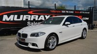 2016 BMW 5 SERIES 3.0 530D M SPORT 4DOOR AUTO 255 BHP *ONLY 19000 MILES* £21495.00