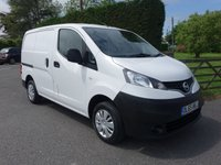USED 2016 65 NISSAN NV200 ACENTA 1.5 DCI 90 BHP Direct From Leasing Company With Full Service History ( 6 Stamps to 89k) Popular Size Van With Electric Windows Twin Side Doors & Reversing Camera!