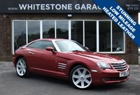 USED 2006 06 CHRYSLER CROSSFIRE 3.2 V6 2d AUTO 215 BHP LOW MILES, HEATED LEATHER SEATS, CRUISE CONTROL, FSH