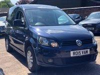 2015 VOLKSWAGEN CADDY 1.6 C20 TDI BMT HIGHLINE AUTO  £5900.00