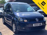 USED 2015 15 VOLKSWAGEN CADDY 1.6 C20 TDI BMT HIGHLINE AUTO  Full VW History, Air con.