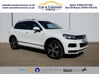 USED 2013 13 VOLKSWAGEN TOUAREG 3.0 V6 R-LINE TDI BLUEMOTION TECHNOLOGY 5d AUTO 242 BHP Full Service History Huge Spec Buy Now, Pay Later Finance!