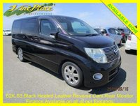 2008 NISSAN ELGRAND Highway Star 2.5 Auto 8 Seats Black Leather Edition £9000.00