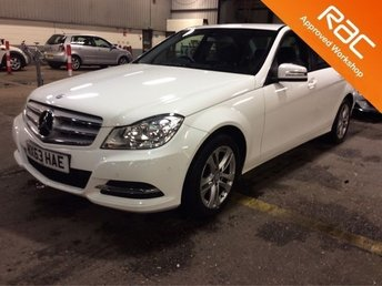 2013 MERCEDES-BENZ C CLASS 2.1 C220 CDI BLUEEFFICIENCY EXECUTIVE SE 4d 168 BHP £10000.00