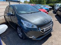 USED 2014 PEUGEOT 208 208 1.6E-HDI ALLURE 5 DOOR SERVICE HISTORY