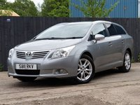 2011 TOYOTA AVENSIS 1.8 VALVEMATIC TR 5d 145 BHP £5000.00