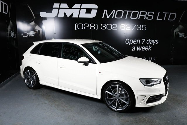 2014 AUDI A3 2.0 TDI S LINE 5d 148 BHP BLACK EDITION STYLE (FINANCE AND WARRANTY)
