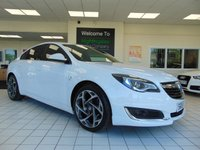 "USED 2016 16 VAUXHALL INSIGNIA 1.6 SRI NAV VX-LINE CDTI S/S 5d 134 BHP FULL SERVICE HISTORY + SATELLITE NAVIGATION + BLUETOOTH + 19"" ALLOYS + CRUISE CONTROL + CLIMATE CONTROL + DAB RADIO + ELECTRIC WINDOWS + REMOTE CENTRAL LOCKING"