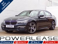 USED 2016 16 BMW 7 SERIES 3.0 730D XDRIVE M SPORT 4d AUTO 261 BHP SUNROOF REARCAMERA DISPLAY KEY
