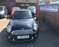 USED 2013 13 MINI HATCH ONE 1.6 ONE D 3d 90 BHP £0 ROAD TAX, ONLY 53K MILES, 4 MINI STAMPS