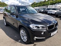 USED 2014 64 BMW X5 2.0 XDRIVE25D SE 5d AUTO 215 BHP Black leather, 20 inch alloys, Sat Nav & Multimedia