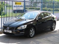 2016 VOLVO S60 2.0 D2 BUSINESS EDITION 4d 118 BHP £8500.00