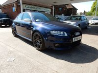 USED 2007 56 AUDI A4 4.2 RS4 QUATTRO 4d 420 BHP SAT NAV,BUCKET SEATS,HEATED SEATS,TWO KEYS,BOSE,BLUETOOTH