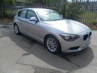 2012 BMW 1 SERIES 1.6 116D EFFICIENTDYNAMICS 5d 114 BHP £6995.00