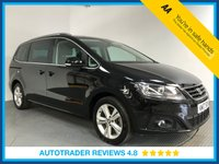 USED 2017 17 SEAT ALHAMBRA 2.0 TDI SE 5d AUTO 150 BHP FULL HISTORY - 1 OWNER - 7 SEATS - EURO 6 - PARKING SENSORS - AIR CON - BLUETOOTH - CRUISE