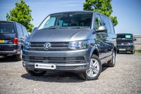 USED 2018 68 VOLKSWAGEN TRANSPORTER T32 TDI KOMBI SWB HIGHLINE DSG (AUTO) GEARBOX  150 BLUEMOTION EURO 6 Comfort Dashboard, Sat Nav (Discovery media unit), Front and Rear parking sensors, Reversing Camera, Electric Folding mirrors, Carpet Cabin, Twin Side loading doors - both with power latching soft close, Heated seats front seats, Single front seats with armrests and lumbar support, 2 +1 split rear seats (for versatility and easy removal)
