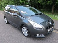 2011 PEUGEOT 5008 2.0 HDI EXCLUSIVE 5d 150 BHP £5990.00