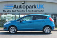 USED 2015 15 FORD FIESTA 1.0 TITANIUM 5d 99 BHP LOW DEPOSIT OR NO DEPOSIT FINANCE AVAILABLE