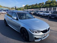 USED 2016 16 BMW M3 3.0 M3 4d 426 BHP Individual Frozen Silver Paint, Carbon Fibre, 19 inch, 360 Cameras, HUD ++