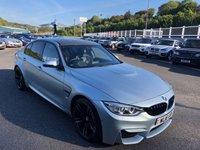 2016 BMW M3 3.0 M3 4d 426 BHP £37500.00