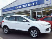 "USED 2016 16 FORD KUGA 2.0 TDCi  ZETEC 5dr (148bhp) .........ONE OWNER. FULL FORD SERVICE HISTORY. AIR COND, CRUISE CONTROL, 17"" SPORT ALLOY WHEELS. LIKE NEW"